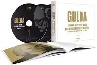 FRIEDRICH GULDA - DAS WOHLTEMPERIERTE KLAVIER 4 CD NEU BACH,JOHANN SEBASTIAN