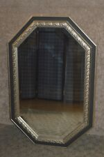 Octagon Shaped Transitional Style Wall Mirror