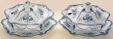 Bourne & Leigh EB&JEL: 'Loraine': 2 Lidded Tureens & Underplates:Albion Pottery
