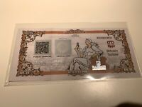 Bitcoin Suisse Certificate BCH - Like Casascius Lealana VERY RARE ONLY 114 MADE!