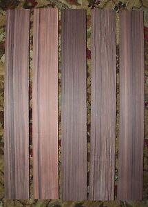 Pau ferro / Bolivian rosewood guitar fingerboard blanks, quarter sawn
