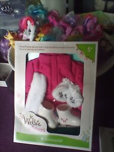 New American Girl Doll WELLIE WISHERS WINTER FRIENDS SKATING Outfit Giftwrapped