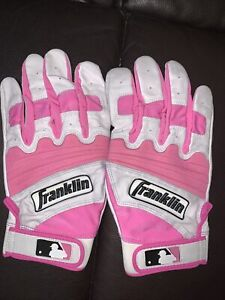 Franklin Pro Pink Batting Gloves XXL Mother's Day
