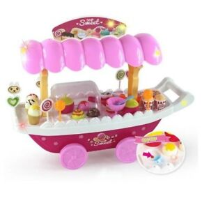 Luxury Candy Car / Sweet Shop Realistic looking, battery-operated ice cream cart