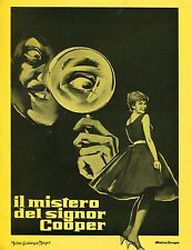 BROCHURE,A Matter of Who. Il mistero del signor Cooper 1961,chaffey,TERRY THOMAS
