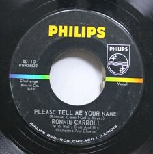 Rock 45 Ronnie Carroll - Please Tell Me Your Name / Say Wonderful Things On Phil