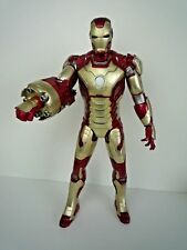 """MARVEL IRON MAN  LARGE 15"""" ACTION FIGURE WITH LIGHT & SOUNDS / FEW MARKS"""