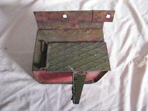 Massey Harris Pony tool box