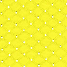 "Michael Miller LATTICE EYELET YELLOW 100%COTTON EMBROIDER FABRIC 54""FQ ET6345STA"