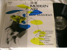 MAT MATHEWS Modern Art of Jazz Joe Puma Oscar Pettiford Art Farmer Gigi Gryce LP