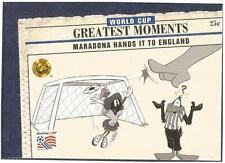Upper Deck Copa Del Mundo EEUU 1994-LOONEY Toons- #099-MARADONA Hands It To