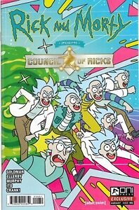 Rick and Morty Council of Ricks 1 Oni Press Exclusive New Bagged and Boarded