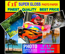 Super Glossy Finest Quality Photo Paper  6x4  20 sheets-180 GSM