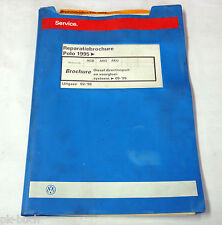 Reparatiebrochure VW Polo 6N Diesel directinspuit- en voorgloeisysteem > 09-99
