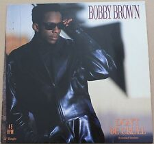 "BOBBY BROWN - Don't be cruel - MAXI LP VINYL 12"" 45 RPM 1988 NEAR MINT CONDITION"