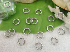 240pcs Tibetan silver circle connector links FC10218