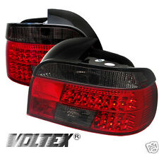 1997-2000 BMW E39 5 SERIES TAIL LED LIGHT BAR LAMPS LIGHTBAR RED SMOKE