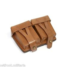 Original Genuine leather Mosin-Nagant 91/30 ammo pouch Marked & Dated