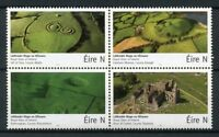 Ireland 2017 MNH Royal Sites Hill of Tara 4v Block Architecture Tourism Stamps