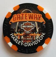 "1 Orig. Harley-Davidson Pokerchip ""Gateway H-D, St. Louis MO, USA"""