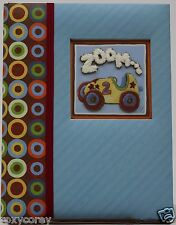C.R. Gibson Baby Days Blue Zoom Zoom Five Year Memory Book NIB