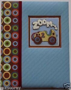 C.R. Gibson Baby Days Blue Zoom Zoom Five Year Memory Book NIB