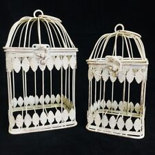 Small Square Vintage Bird Cage