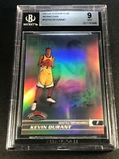 KEVIN DURANT 2007 TOPPS STADIUM CLUB #102 REFRACTOR ROOKIE RC /999 MINT BGS 9