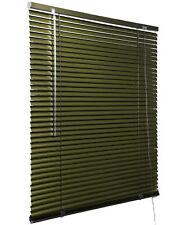Jalousie Aluminiumjalousie Plissee Alu Aluminium Metallic 60x180 braun Vh5404