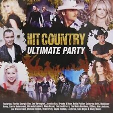 Hit Country: Ultimate Party by Various Artists (CD, May-2014, 2 Discs, ABC) NEW