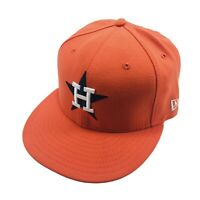 New Era 59Fifty Houston Astros Mens Fitted Hat Size 7 3/8 Cooperstown Cap