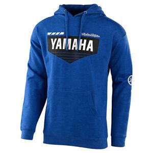 Troy Lee Designs Yamaha L4 Pullover Hoodie Royal Heather