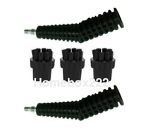 2 x Nozzels + 3 Nylon Brushes Compatible With  X5 H20 Steam Mops