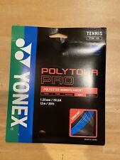 Yonex Poly Tour Pro Blue  16L Gauge 1.25mm Tennis String, 4 sets