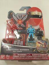 Power Rangers Super Megaforce *Red&SkyBlue&Black Legendary Ranger Key Pk* Bandai