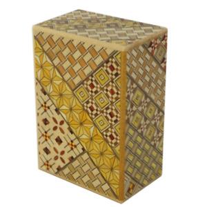 Japanese craftsman made trick puzzle box 4 Sun 21 Step