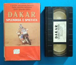 VHS Film Ita Sportivo DAKAR Splendida e Spietata Videobox Ex Nolo no dvd cd(V86)