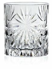 SET OF 6X RCR Italian Crystal Whisky Tumblers Oasis Glass 320 ml