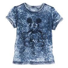 2eb49258a5a3cc Disney Mickey Mouse Mineral Wash T-Shirt for Girls Medium New W Tag