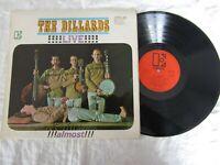 THE DILLARDS LP LIVE ALMOST !   elektra eks 7265 original orange paper labels