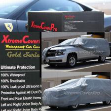 2014 2015 CHEVROLET SUBURBAN Waterproof Car Cover w/Mirror Pockets - Gray