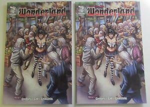 Grimm Fairy Tales Presents Wonderland 4 x 2 NM Zenescope Comics
