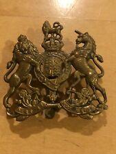 British UK Military Regimental WWI Breast Badge,Bronze