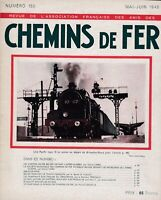 revue de l'association française des amis des chemins de fer n°150. mai-juin1948