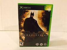 Batman Begins Game For Microsoft Original Xbox