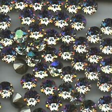 1088 SS39 LUM *** 8 STRASS SWAROVSKI FOND CONIQUE SS39(8,3mm) LUMINOUS GREEN F