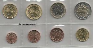 LITUANIA  I PRIMI EURO 2015 - 8 monete UNC SCEGLI QUELLE CHE INTERESSANO