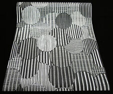 """13341-50) hochwertige Vliestapete """"Retro-Design Tapete"""" schwarz  grau - silber"""