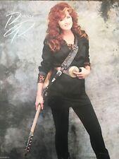 Bonnie Raitt Nick Of Time 1989 Rare Promo Poster