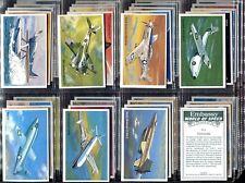 Tobacco Card Set,Embassy,Wills,WORLD OF SPEED,Plane,Car,Boat,Tank,Train,Concorde